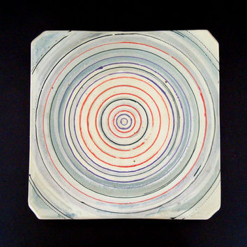 Ceramic platter, serving platter, large platter, handmade, high fired