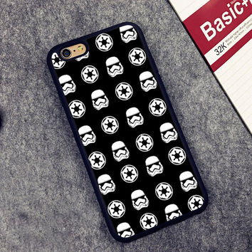Star Wars Stormtrooper Style Printed Soft Rubber Phone Cases For iPhone 6 6S Plus 7 7 Plus 5 5S 5C SE 4 4S Back Cover Skin Shell