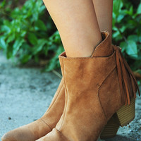 Hit The Road Booties: Almond