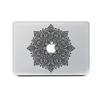 FLOWERS MACBOOK STICKER