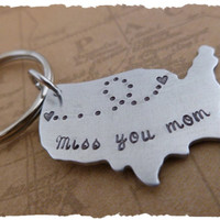 Long distance Family Custom Message Miss you mom dad brother sister best friends cousin couples going away gift distance family ldr ldrship