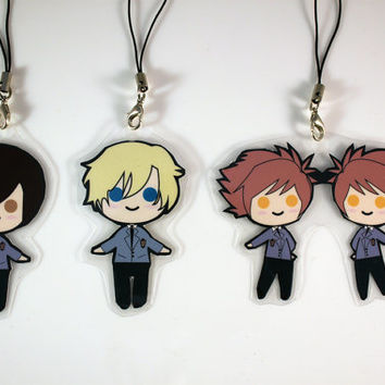 Ouran High School Host Club Keychains