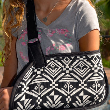 REVERSIBLE Tribal Tapestry Arm Sling