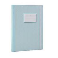 See Jane Work Business Notebooks College Ruled 80 Pages Blue Herringbone by Office Depot & OfficeMax