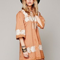 Free People Womens FP New Romantics Doll Face Peasant Dress -