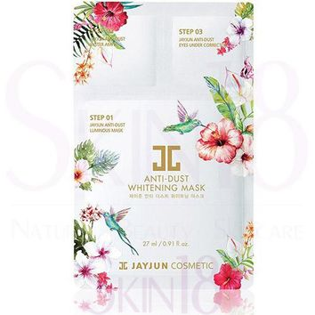 JAYJUN 3 steps Anti-Dust Whitening Mask