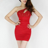 shop — 061704 Diamond-studded dress folds