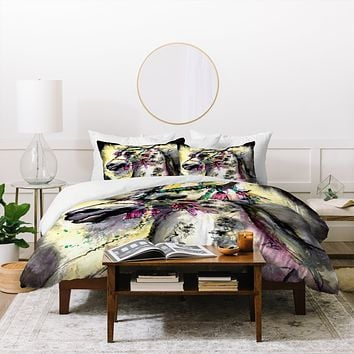 Ginette Fine Art Arabian Stallion With Headdress Duvet Cover