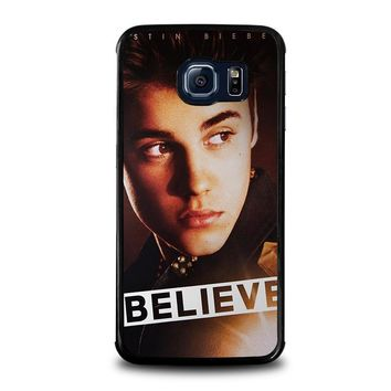 justin bieber samsung galaxy s6 edge case cover  number 1