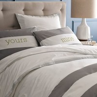 Mod Stripe Duvet Cover + Shams