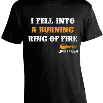 Johnny Cash Ring of Fire T-Shirt
