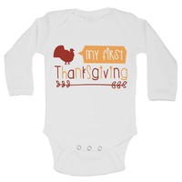 My First Thanks Giving Funny Kids Onesuit - B169