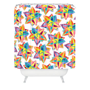 CMYKaren Star Power Shower Curtain