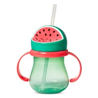 Watermelon Plastic Sippy Cup 9oz Green