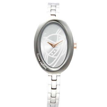 Vivienne Westwood Women's The Twist Bracelet Watch - Silver