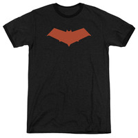 Batman Red Hood Black Ringer T-Shirt