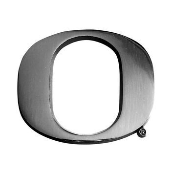 Oregon Ducks NCAA Chrome Car Emblem (2.3in x 3.7in)