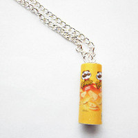 Miniature Can Pringlers Necklace Junk Food by FoodJewelleryDirect2