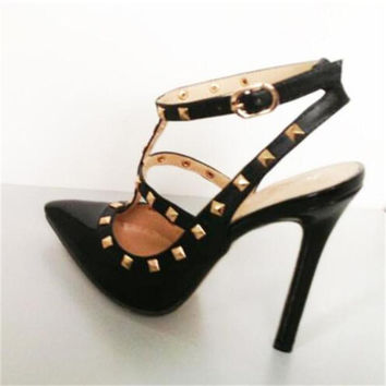 Stella Studded Pumps