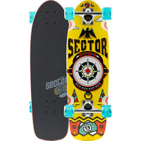 Sector 9 Cartographer Skateboard Yellow One Size For Men 24275360001