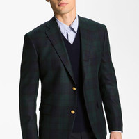 Brooks Brothers by Jeffrey Plaid Cashmere Blazer | Nordstrom