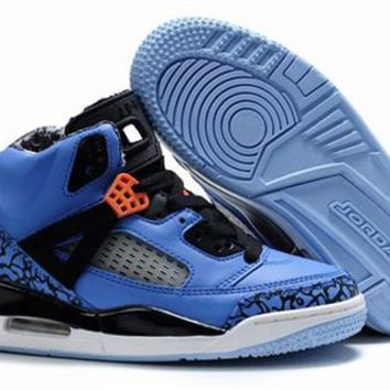 New Nike Air Jordan 3.5 Spizike Kids Shoes Blue Black