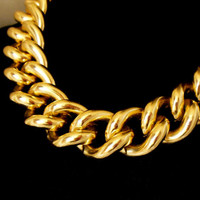 Erwin Pearl Necklace Chunky Gold Chain Fashion
