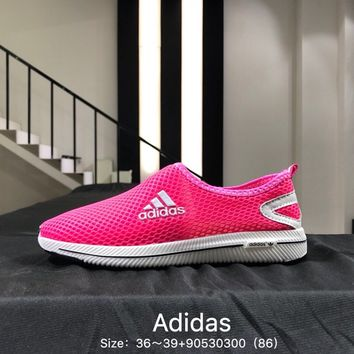 2018 new summer Adidas Light running shoes leisure sports mesh ventilation
