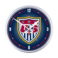 US Soccer National Team Round Wall Clock