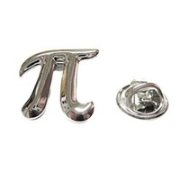 Mathematical Pi Symbol Lapel Pin [Jewelry]