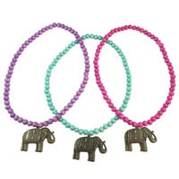 Boho Beads |  Elephant Beaded Necklace