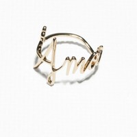 & Other Stories | L'Amour Ring | Gold