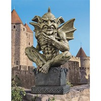 SheilaShrubs.com: Beelzebub, The Prince of Demons Gargoyle Statue CL6013 by Design Toscano: Garden Sculptures & Statues