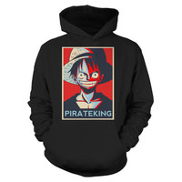 One Piece - Luffy Parate King -Unisex Hoodie  - SSID2016