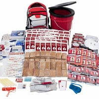10-Person Deluxe 72-Hour Survival Kit