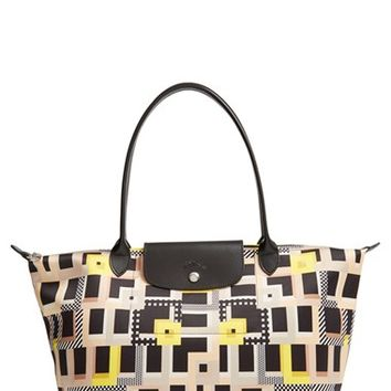 Longchamp 'Large Le Pliage - Artwalk' Tote