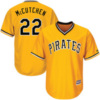 Pittsburgh Pirates Andrew McCutchen #22 Away Alternate Throwback Jersey