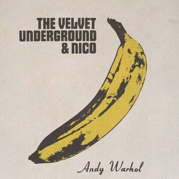 Andy Warhol Banana Bag - Canvas Shopping Bag - The Velvet Underground Nico Cotton Tote Bag