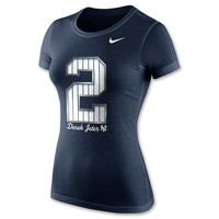 Women's Nike New York Yankees MLB Derek Jeter LTD Player T-Shirt