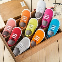 Spring summer children casual shoes korean style infant toddlers shoes fashion ventilate little girls leisure shoes
