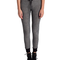 Dark Heathered Jogger Pants