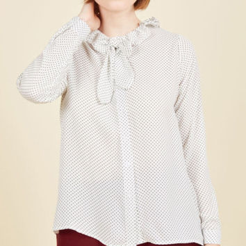 Missed Confections Button-Up Top | Mod Retro Vintage Short Sleeve Shirts | ModCloth.com