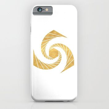 GOLDEN MEAN SACRED GEOMETRIC CIRCLE iPhone & iPod Case by deificus Art