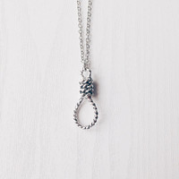 Noose Necklace | Grunge Necklace | Creepy Jewelry | Occult Jewellery | Hangman Noose