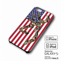 Browning Deer Camo American Flag iPhone case 4/4s, 5S, 5C, 6, 6 +, Samsung Galaxy case S3, S4, S5, Galaxy Note Case 2,3,4, iPod Touch case 4th, 5th, HTC One Case M7/M8
