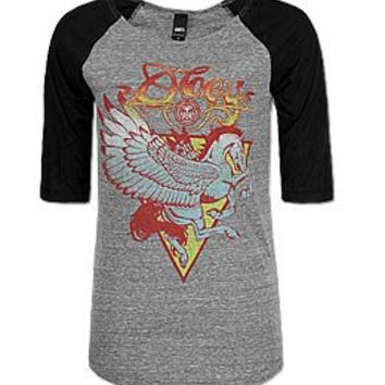 OBEY Pegasus T-Shirt - Women's Shirts/Tops | Buckle