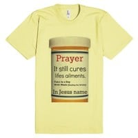 Prayer Persciption-Unisex Lemon T-Shirt