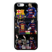 Lionel Messi Collage Hard Plastic Case For iPhone 6s 6s plus Low Price