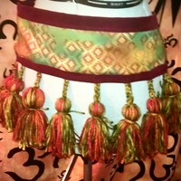 Tribal Tassel Belt