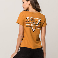 VANS Skimmer Checker Womens Tee